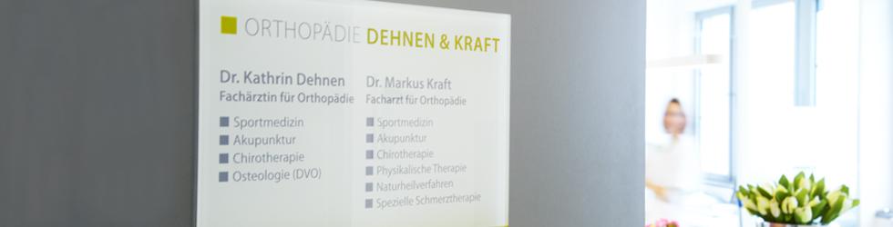 Dr. Dehnen & Dr. Kraft Orthopädie Praxis Düsseldorf